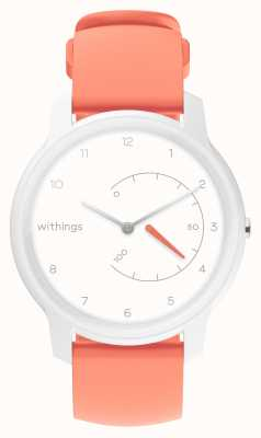 Withings Tracker d'activité blanc et corail HWA06-MODEL 5-ALL-INT