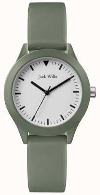 Jack Wills | bracelet en caoutchouc gris dames | JW008FGFG