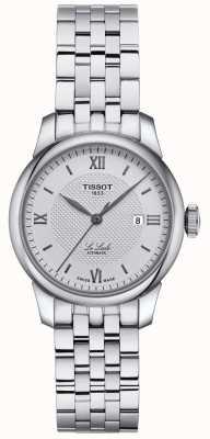 Tissot | femmes le locle | bracelet en acier inoxydable | cadran argenté | T0062071103800