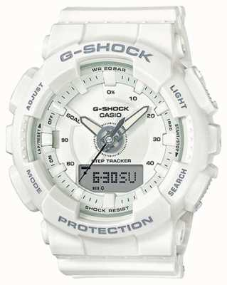 Casio | Résine Femme G-shock | sangle blanche | GMA-S130-7AER