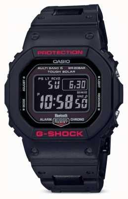 Casio Bracelet en résine noir g-shock heritage homme numérique GW-B5600HR-1ER