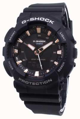 Casio Bracelet G-shock step tracker en résine noire GMA-S130PA-1AER