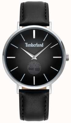 Timberland | mens rangeley | bracelet en cuir noir | cadran noir | 15514JS/02