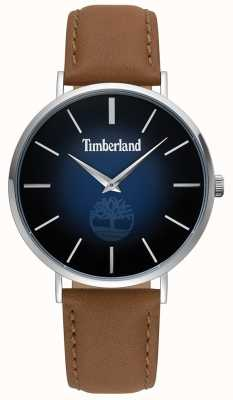 Timberland | mens rangeley | cuir marron | cadran bleu | 15514JS/03