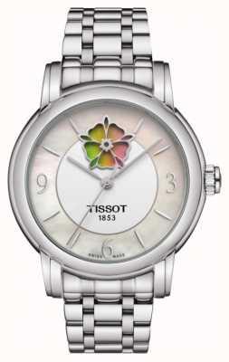 Tissot Bracelet Femme Coeur Fleur Powermatic 80 Acier Inoxydable T0502071111705