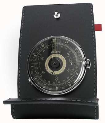 Klokers Klok 08 cadran noir tête de bureau et poche KLOK-08-D3+KPART-01-C2