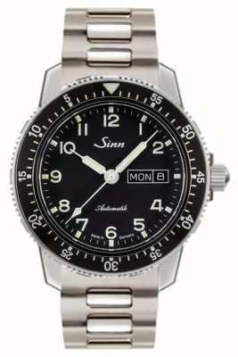 Sinn 104 st sa une montre pilote classique en acier inoxydable 104.011 BRACELET