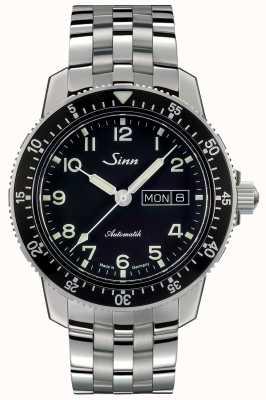 Sinn 104 st sa montre de pilote classique bracelet en acier à maillons fins 104.011 FINE LINK BRACELET
