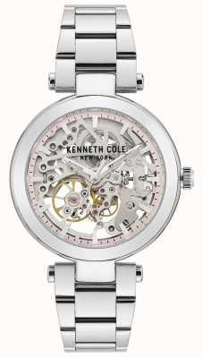 Kenneth Cole | automatique femme | bracelet en acier inoxydable | cadran argenté KC50799001