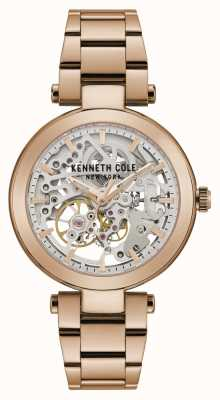 Kenneth Cole | automatique femme | bracelet en or rose | cadran en or rose | KC50799002