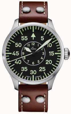 Laco   aachen 42   pilote automatique   bracelet en cuir marron   861690.2