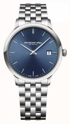 Raymond Weil | toccata pour hommes | acier inoxydable classique | cadran bleu | 5485-ST-50001