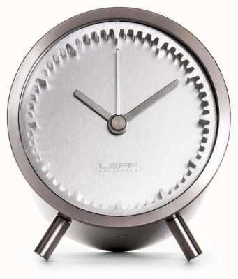 Leff Amsterdam | horloge à tube | acier inoxydable | LT70001