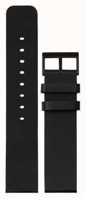 Leff Amsterdam | bracelet en cuir noir | boucle noire | LT75012-STRAP