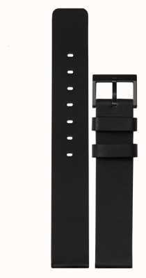 Leff Amsterdam | bracelet en cuir noir | boucle noire | LT74012-STRAP