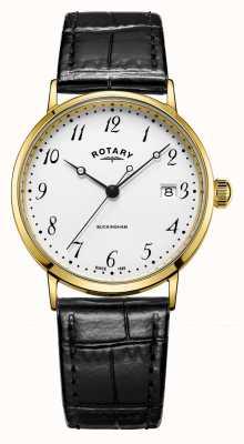 Rotary Montre buckingham pour homme en or 9 carats GS11476/18