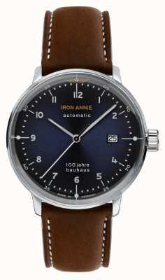 Iron Annie Bauhaus | automatique | bracelet en cuir marron | 5056-3