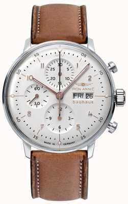 Iron Annie Bauhaus | automatique | chronographe | cadran blanc 5018-4