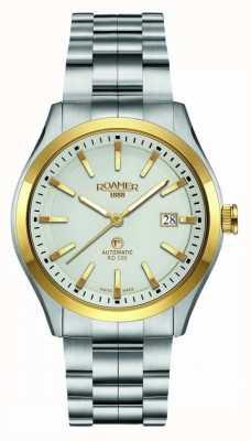 Roamer | rd100 automatique | bracelet en acier inoxydable | cadran blanc | 951660-47-15-90