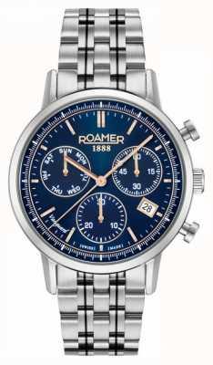 Roamer | hommes | avant-garde chrono ll | bracelet en acier inoxydable | 975819-41-45-90