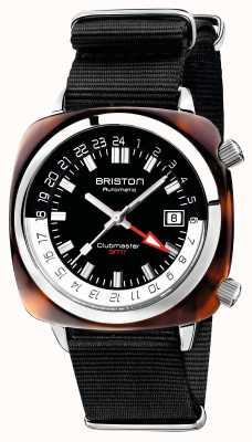 Briston Bracelet pour otan noir clubmaster gmt édition limitée auto noir 19842.SA.T.1.NB