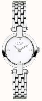 Coach | les femmes | chrystie | bracelet en acier | cadran blanc | 14503390