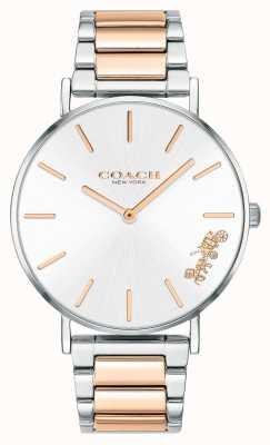 Coach | femmes | poiré | bracelet deux tons | cadran argenté | 14503346