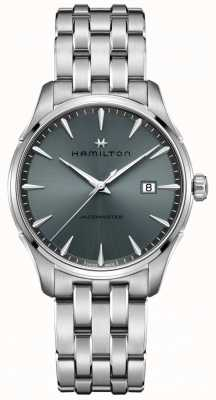 Hamilton | jazzmaster | bracelet en acier inoxydable | cadran noir / gris | H32451142