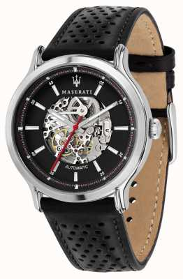 Maserati | epoca racing 42mm | automatique | bracelet en cuir noir | R8821138001