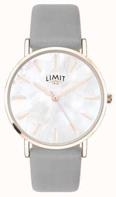Limit | jardin secret des femmes | bracelet gris | cadran en nacre | 60049.73