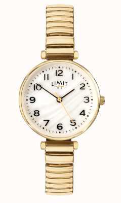 Limit | Bracelet plaqué or pour femme | cadran en nacre | 60063.01