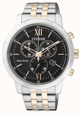 Citizen | chronographe eco-drive pour homme | bracelet en acier inoxydable | AT2304-50E