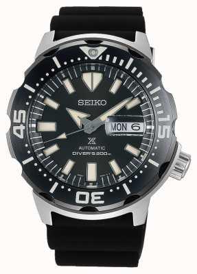 Seiko Prospex monster plongeurs automatiques | bracelet en caoutchouc noir | SRPD27K1