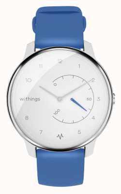 Withings Déplacer ecg | blanc et bleu | tracker d'activité HWA08-MODEL 2-ALL-INT