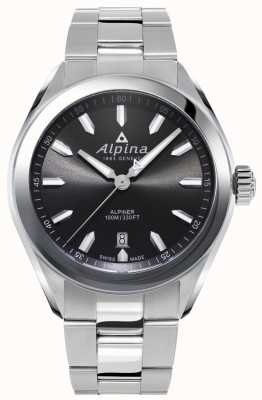 Alpina | homme alpiner | bracelet en acier inoxydable | cadran gris | AL-240GS4E6B