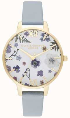 Olivia Burton | femmes | artisan | bracelet végétalien bleu craie | OB16AR08