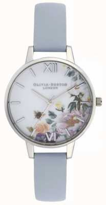 Olivia Burton   les femmes   jardin enchanté   bracelet bleu craie   OB16EG114