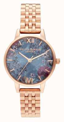 Olivia Burton | les femmes | sous la mer | bracelet en or rose | OB16US25