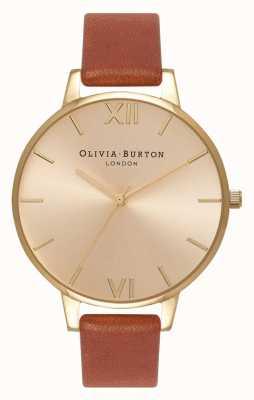 Olivia Burton | les femmes | cadran solaire | cuir beige | OB13BD09