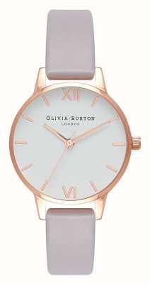 Olivia Burton | les femmes | bracelet lilas gris | cadran blanc | OB16MDW32
