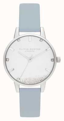 Olivia Burton | les femmes | la montre qui souhaite | bracelet vegan bleu craie | OB16SG07