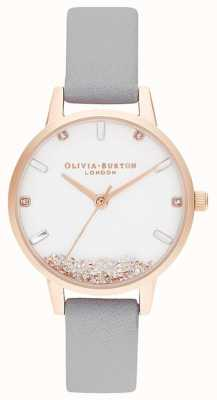 Olivia Burton | les femmes | la montre qui souhaite | bracelet gris | OB16SG08