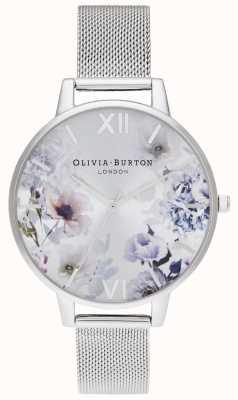 Olivia Burton | les femmes | fleurs au soleil | bracelet en maille d'acier | OB16EG117