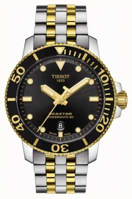 Tissot Seastar 1000 powermatic 80 automatique deux tons T1204072205100