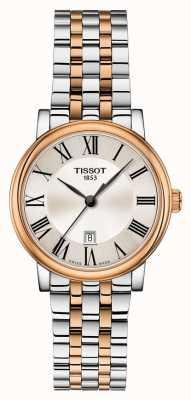 Tissot | carson premium lady | bracelet bicolore | T1222102203301