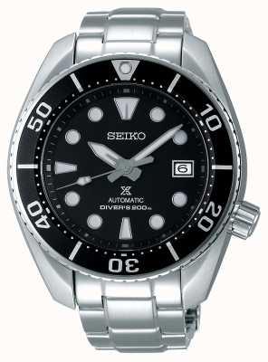 Seiko Bracelet en acier inoxydable Sumo automatique Prospex pour homme Ex-Display SPB101J1EX-DISPLAY