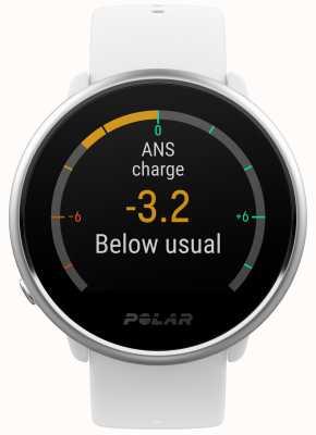 Polar | s'enflammer | activité et tracker hr | silicone blanc | m / l | 90071067