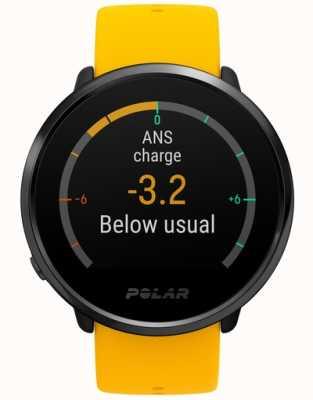 Polar | s'enflammer | activité et tracker hr | silicone jaune | m / l | 90075950