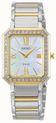 Seiko | série conceptuelle | classique | solaire | bracelet deux tons | SUP428P1