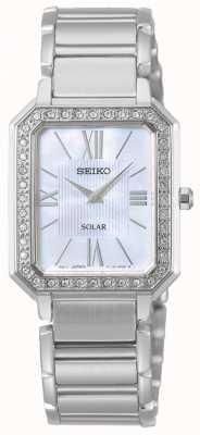 Seiko | série conceptuelle | classique | solaire | bracelet deux tons | SUP427P1